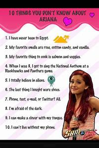 Here are some facts you may not know!! | ariana grande ...