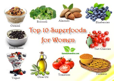 top 10 superfoods for home remedies by speedyremedies