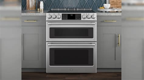 The Best Double Oven Ranges Of 2018 Stove Top Grill Pan Recipes Single Big Burner Gas Hotpoint Parts Manual Are Wood Pellets Safe For Ferrets Stoves Troubleshooting Liners Natural Vent Smoke Shelf