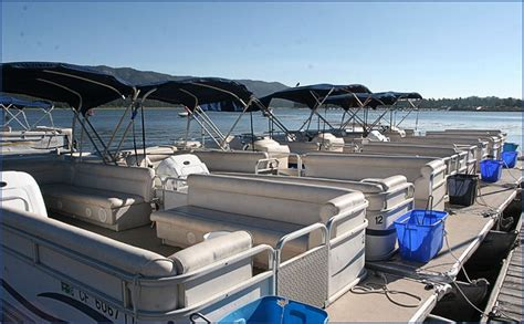 Big Bear Marina Boat Slip Rentals by Bbm Pontoon And Fishing Boat Waverunner And Kayak Rentals