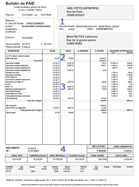 modele fiche de paie retraite document
