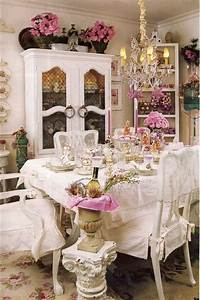 Shabby And Chic : shabby chic dining room ideas diy crafts ~ Markanthonyermac.com Haus und Dekorationen