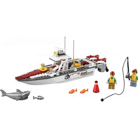 Toy Lego Boat by Lego City Fishing Boat 60147 Mr Toys Toyworld