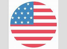 United States of America Flag Vector Emoji Icon Free
