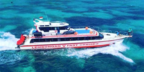 Catamaran Cruise Nusa Lembongan by Rocky Fast Cruise Offer Daily Boat Transfer Fast Boat