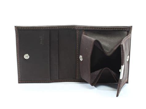 petit porte monnaie en cuir marron de forme carr 233 porte monnaie cuir