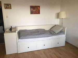 Ikea Möbel Weiß : hemnes tagesbett wei von ikea 3 schubladen ausziehbar in m nchen ikea m bel kaufen und ~ Markanthonyermac.com Haus und Dekorationen