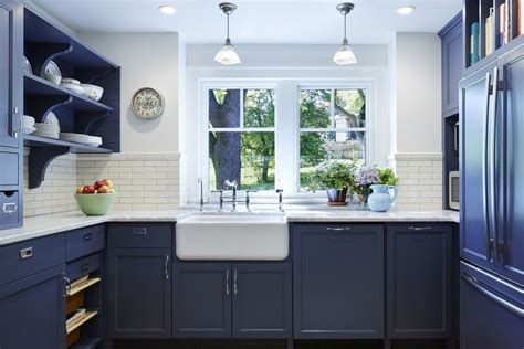 Beautiful Blue Kitchen Cabinet Ideas White Kitchen Sink Undermount Replacing Faucet How To Measure Size Sinks For Sale Online Ikea Accessories Ctm Leak Under Cabinet Steel