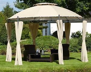 Dach Für Gartenpavillon : pavillon rundpavillon 350 cm inkl 6 seitenteilen online kaufen otto ~ Markanthonyermac.com Haus und Dekorationen