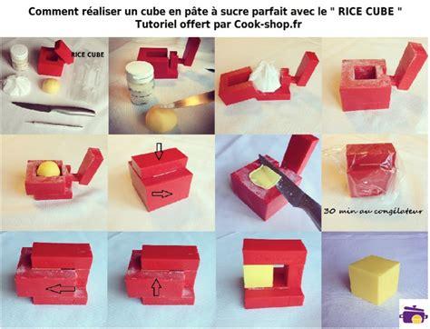 r 233 aliser un cube parfait en p 226 te 224 sucre cook shop le