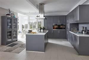 Küchen Aktuell Hannover : musterring k che mr5300 farbe nero grau modern k che hannover von k chen aktuell ~ Markanthonyermac.com Haus und Dekorationen