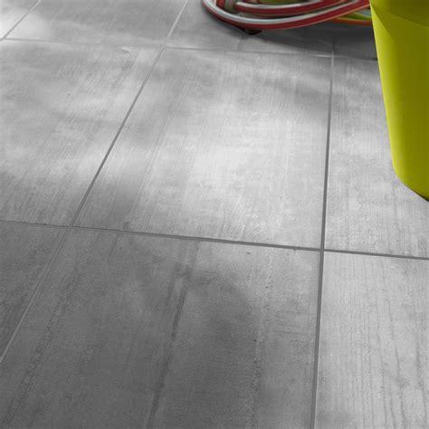 carrelage ext 233 rieur industry premium en gr 232 s c 233 rame gris clair 30 5 x 60 5 cm leroy merlin