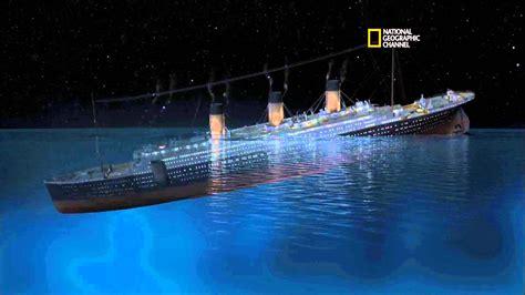 rms titanic sinking simulation 101yr tribute