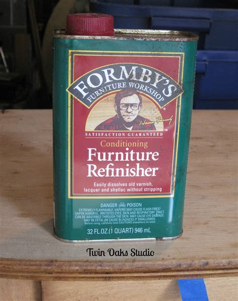 Refinishing antique dressers Using Formby's Furniture