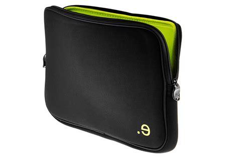 sacoche pour ordinateur portable be ez housse noir et verte pour macbook 13 quot ou pc 13