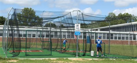 cost of batting cage turf options on deck sports