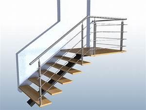 Halbgewendelte Treppe Mit Podest : gel nder treppe mit podest und abschluss mit edelstahl handlauf f llung 4 streben ~ Markanthonyermac.com Haus und Dekorationen