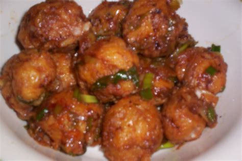 indian recipes vegetable manchuria