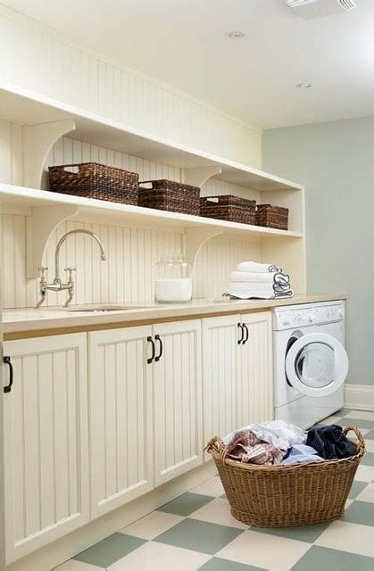 Beadboard In The Laundry
