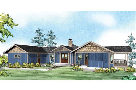 Prairie Style House Plans  Edgewater 10578 Associated