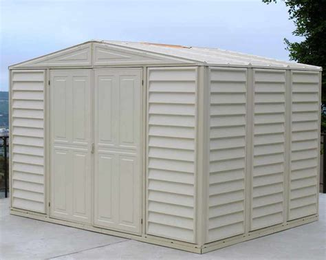 duramax vinyl shed 10 x 8