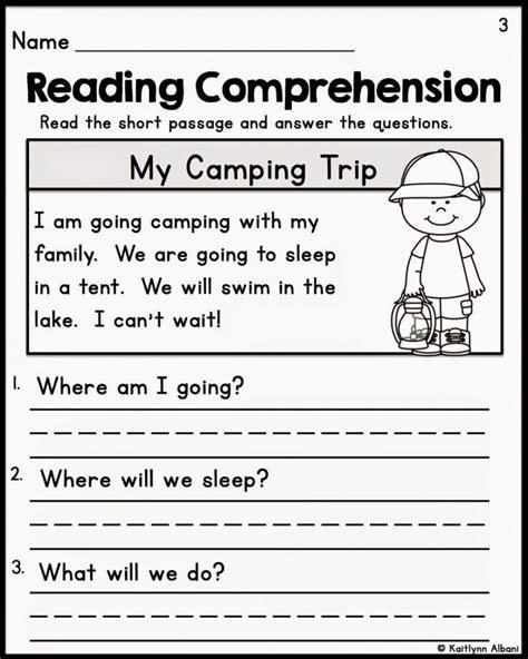 Freeprintablereadingcomprehensionworksheetsfor