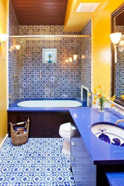 1000+ Ideas About Blue Yellow Bathrooms On Pinterest