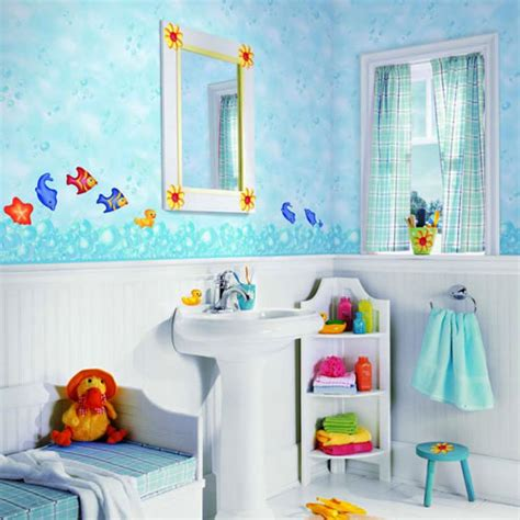 Themes For Kids' Bathrooms