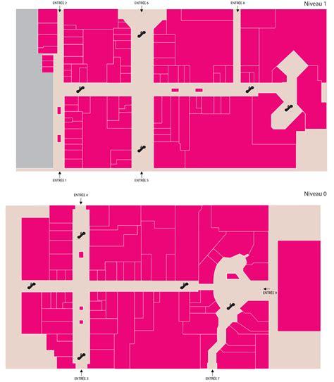 plan du centre centre commercial cit 233 europe
