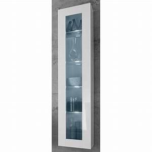 Hängevitrine Weiß Landhaus : h ngevitrine vitrine wohnzimmer wei glas hochglanz 180 cm neu 622338 ebay ~ Markanthonyermac.com Haus und Dekorationen