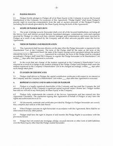 China Share Pledge Agreement | Legal Forms and Business ...
