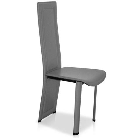 chaise cuisine grise le monde de l 233 a