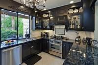 dark kitchen cabinets 46 Kitchens With Dark Cabinets (Black Kitchen Pictures)