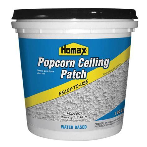 homax 1 qt premixed popcorn patch 85424 the home depot