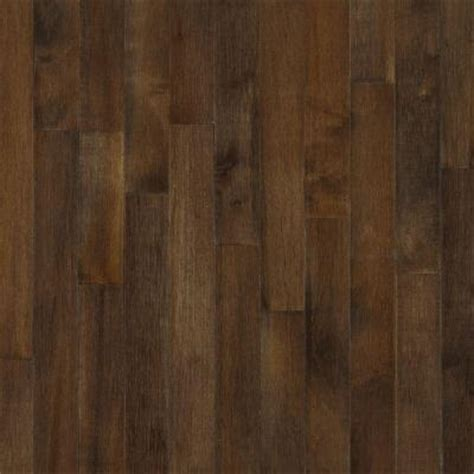 Maple Hardwood Flooring Colors by Bruce American Originals Carob Maple 5 16 In T X 2 1 4 In
