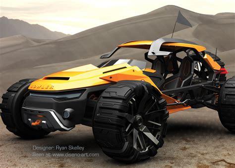 Future Off Road Vehicle Concept Art
