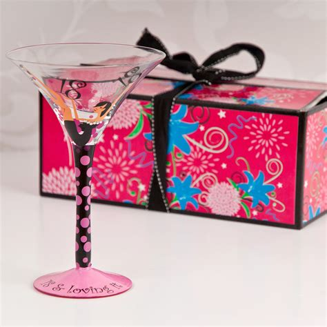 18th Birthday Tallulah Chic Cocktail Glass Birthday