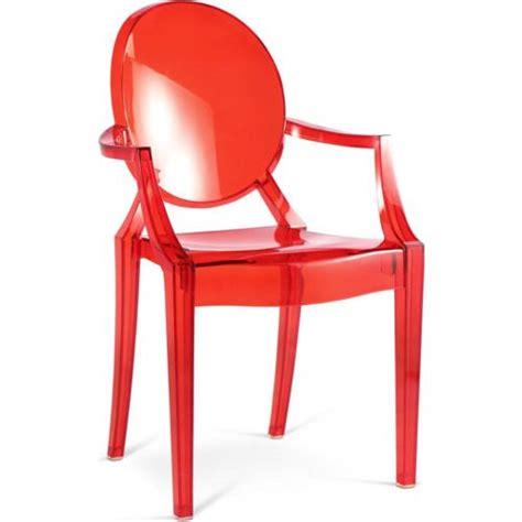 privatefloor fauteuil louis ghost inspiration philippe s transparent pas cher achat