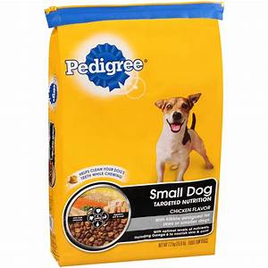 Pedigree Small Breed Kibbles Dry Dog Food - 15 Pound Bag
