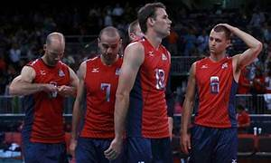 USA men's volleyball team lose Olympic crown after loss to ...