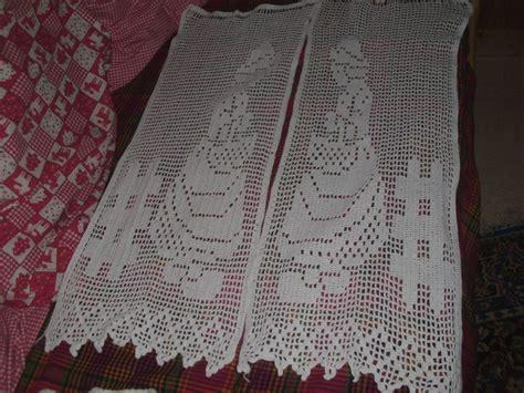 modele crochet rideau gratuit 15