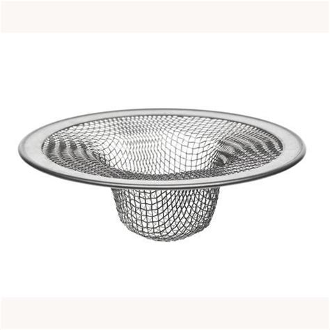 plumb works 2 75 quot tub shower mesh strainer at menards 174