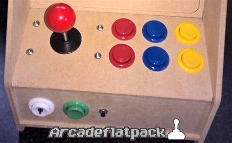 arcade mini bartop flat pack cabinet kit mame raspberry pi ebay