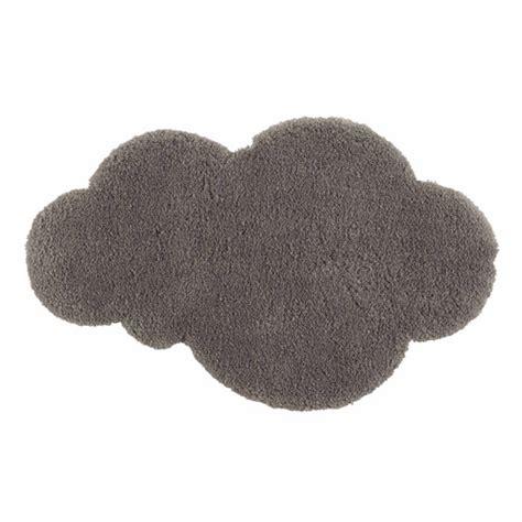 tapis nuage 224 poils courts gris 60 x 100 cm maisons du monde