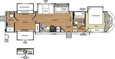Travel Trailer Floor Plans With Bunk Beds 12 Must See Bunkhouse Rv Floorplans Welcome To The General Rv