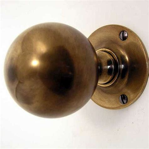 antique brass door knobs door knobs antique brass unlacquered broughtons of
