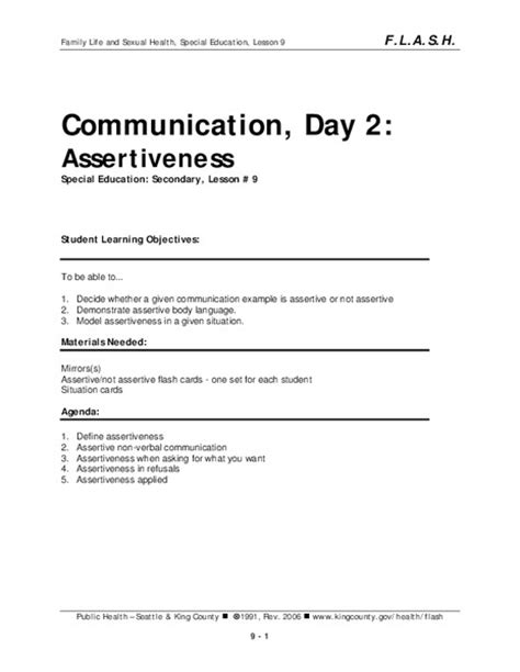 All Worksheets » Assertiveness Worksheets  Printable Worksheets Guide For Children And Parents