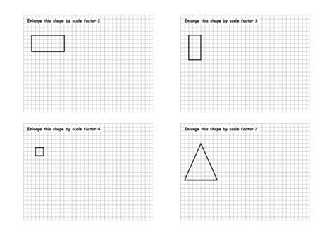 Enlargements Worksheet By Jad518nexus  Teaching Resources Tes