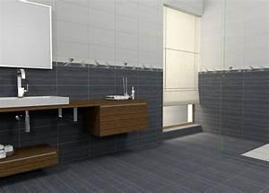 Badezimmer Fliesen Ideen Grau : bodenfliesen beeinflussen das gesamtbild des bades ~ Markanthonyermac.com Haus und Dekorationen