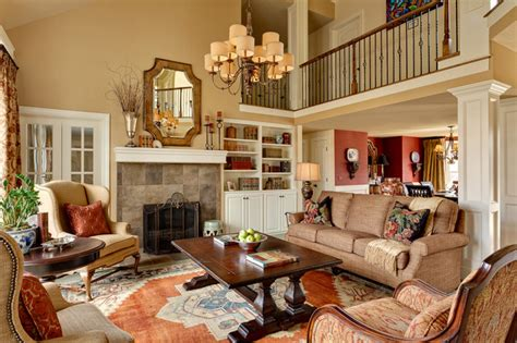 houzz living rooms traditional residential interiors kansas city traditional living